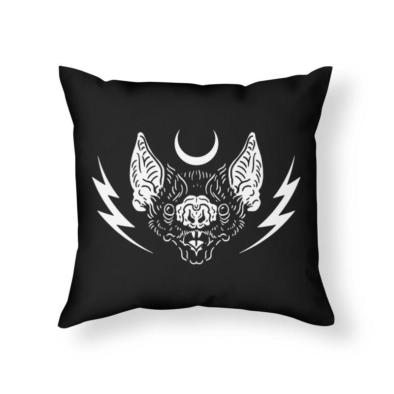 Night Power Home Throw Pillow by Nikol King's Artist Shop