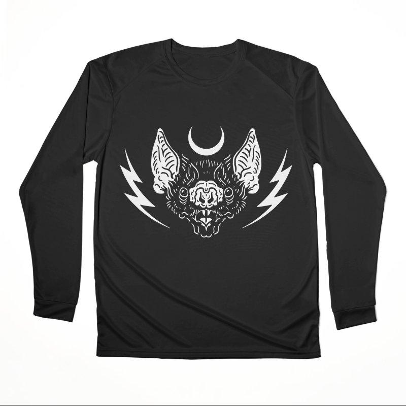 Night Power Women's Longsleeve T-Shirt by Nikol King's Artist Shop