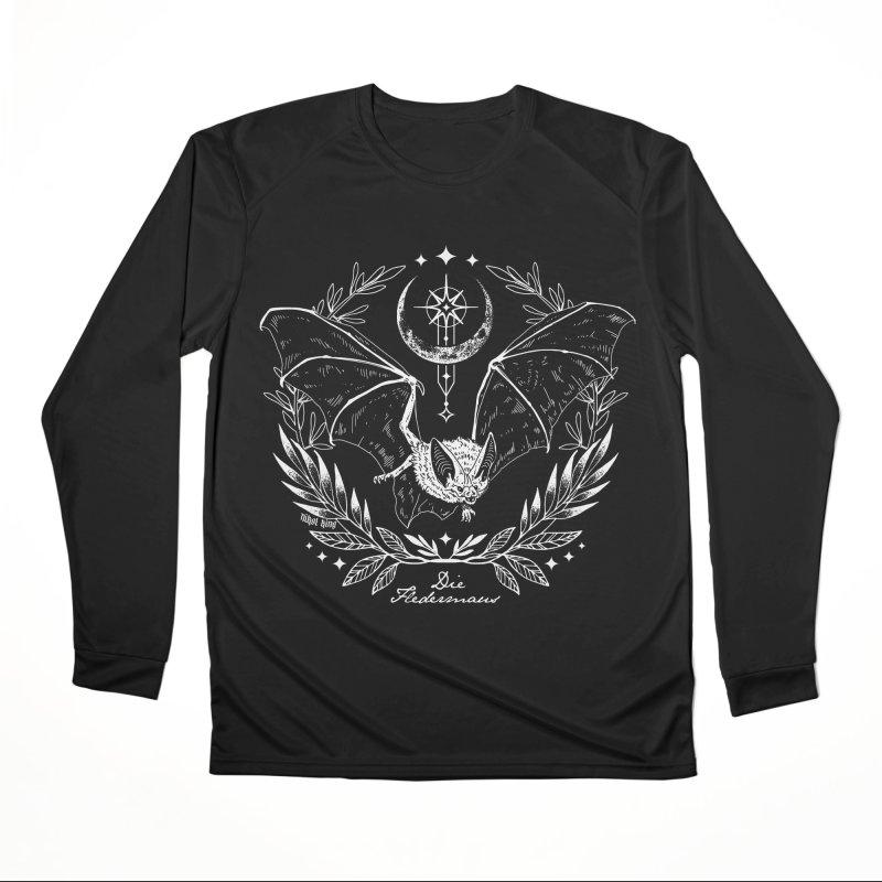 Die Fledermaus Women's Longsleeve T-Shirt by Nikol King's Artist Shop