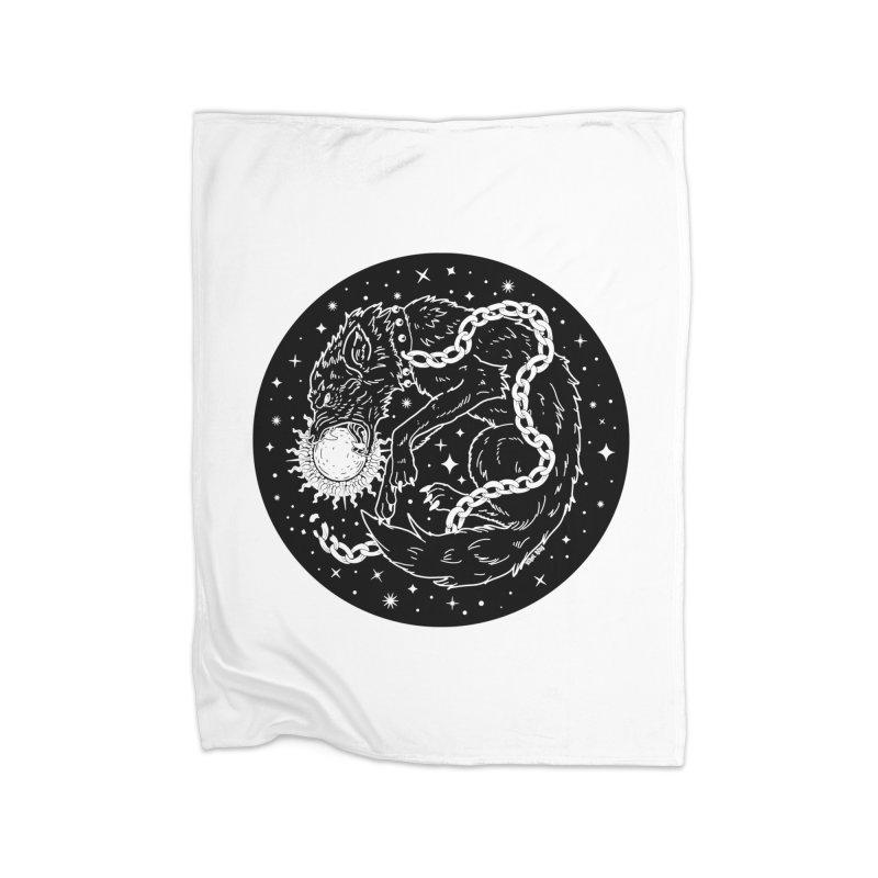 Devour The Light Home Blanket by Nikol King's Artist Shop