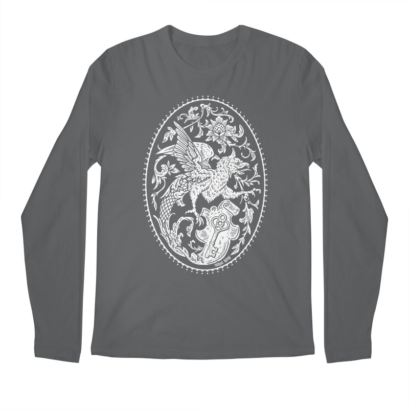 The Griffin's Garden Men's Longsleeve T-Shirt by Nikol King's Artist Shop