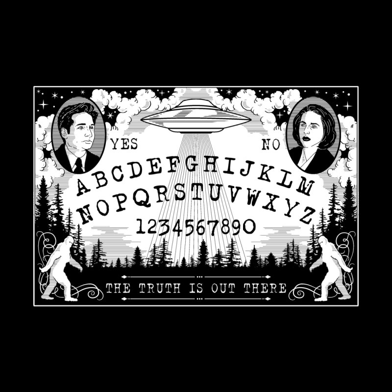 X-Files Ouija Board by nikolking's Artist Shop