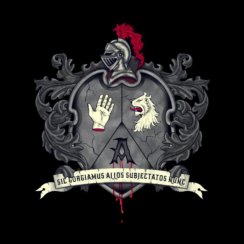 Addams Crest by nikolking's Artist Shop