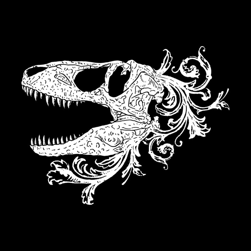 T-Rex Filigree by nikolking's Artist Shop