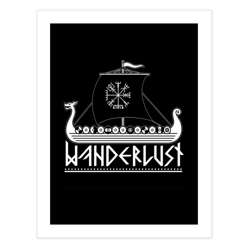 Wanderlust Home Fine Art Print by nikolking's Artist Shop