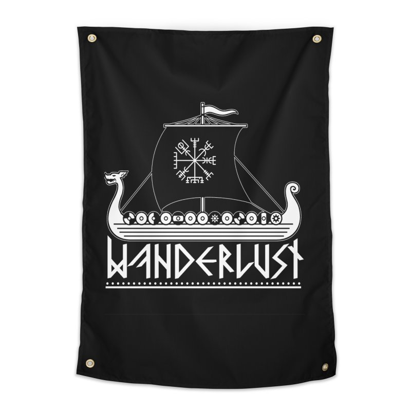 Wanderlust Home Tapestry by nikolking's Artist Shop