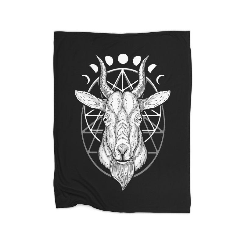 Sacred Goat Home Blanket by nikolking's Artist Shop