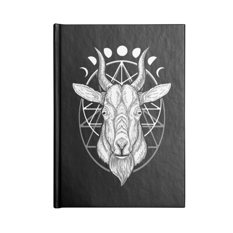 Sacred Goat Accessories Notebook by nikolking's Artist Shop