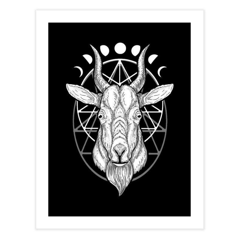 Sacred Goat Home Fine Art Print by nikolking's Artist Shop