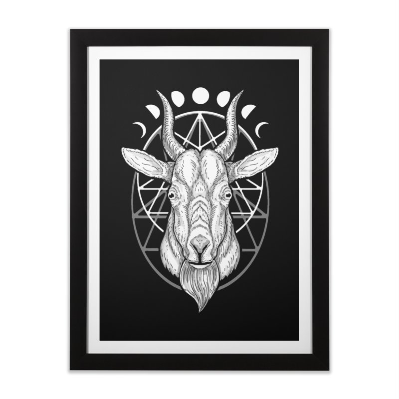 Sacred Goat Home Framed Fine Art Print by nikolking's Artist Shop
