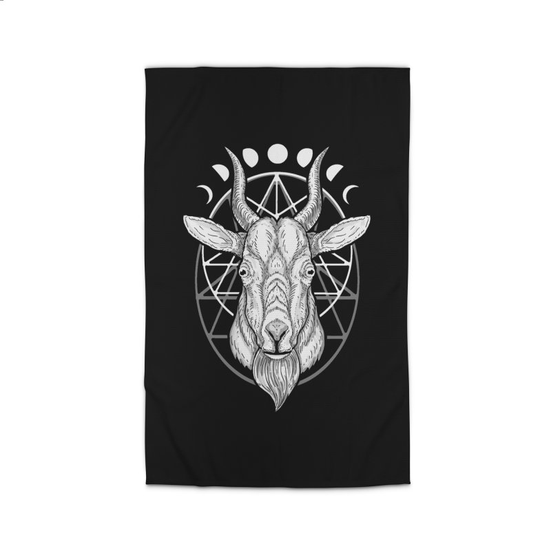 Sacred Goat Home Rug by nikolking's Artist Shop