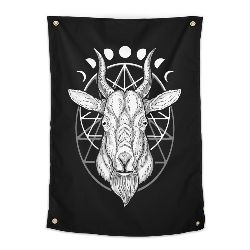 Sacred Goat Home Tapestry by nikolking's Artist Shop