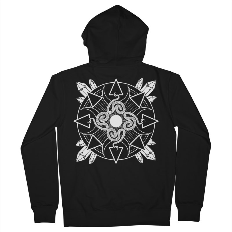 Serpent's Secret Women's Zip-Up Hoody by nikolking's Artist Shop