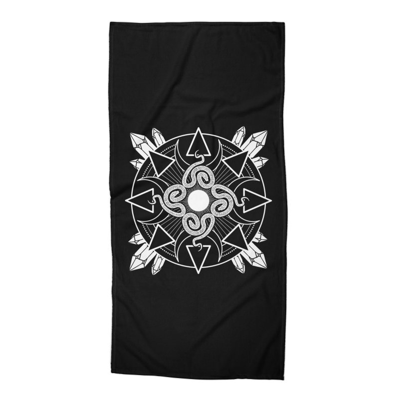 Serpent's Secret Accessories Beach Towel by nikolking's Artist Shop