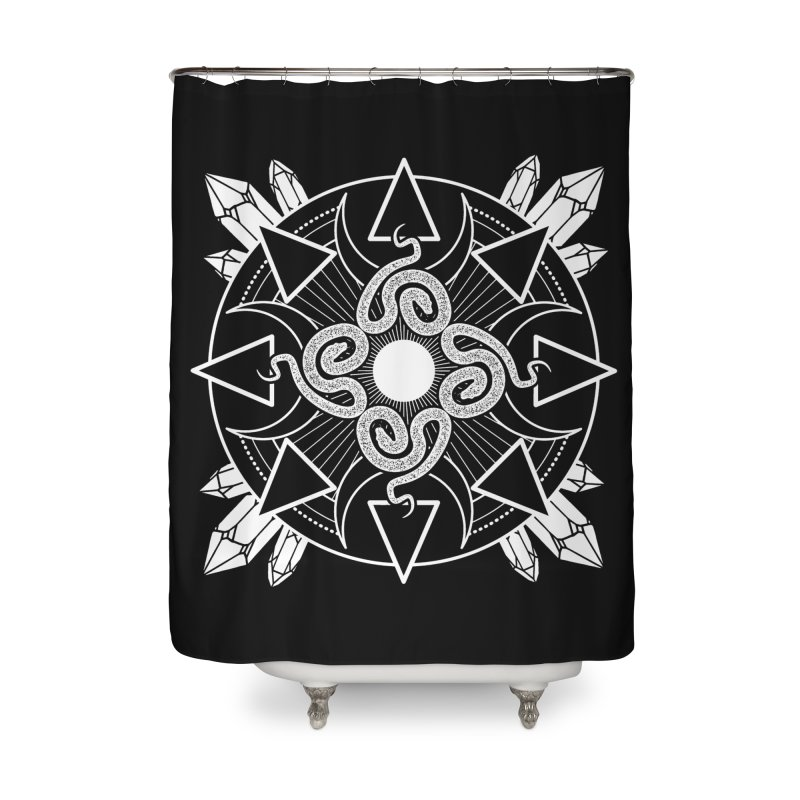 Serpent's Secret Home Shower Curtain by nikolking's Artist Shop