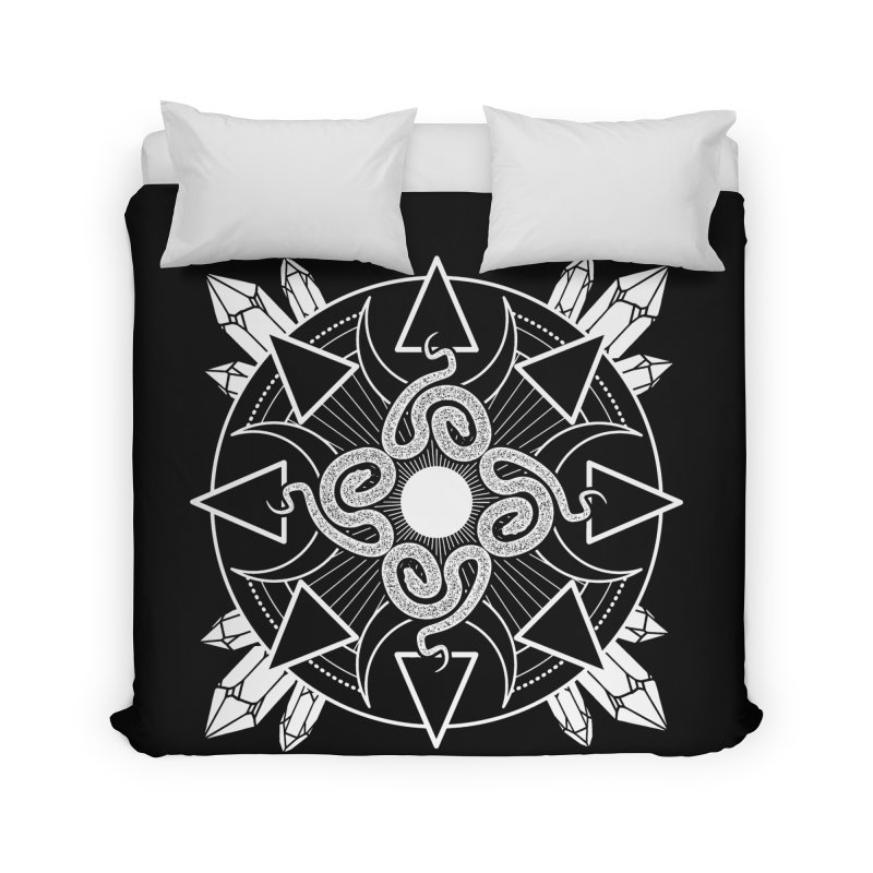 Serpent's Secret Home Duvet by nikolking's Artist Shop