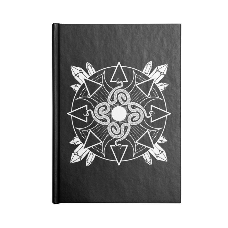 Serpent's Secret Accessories Notebook by nikolking's Artist Shop