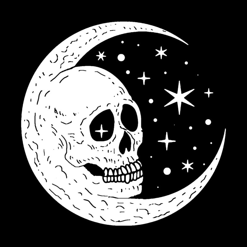Cosmic Skull by Nikol King's Artist Shop