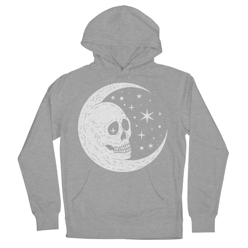 Cosmic Skull Women's French Terry Pullover Hoody by nikolking's Artist Shop