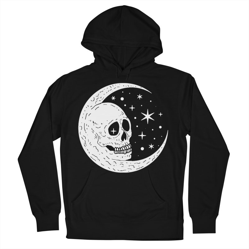 Cosmic Skull Men's Pullover Hoody by nikolking's Artist Shop