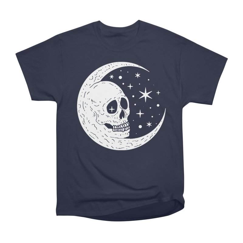 Cosmic Skull Women's Heavyweight Unisex T-Shirt by nikolking's Artist Shop