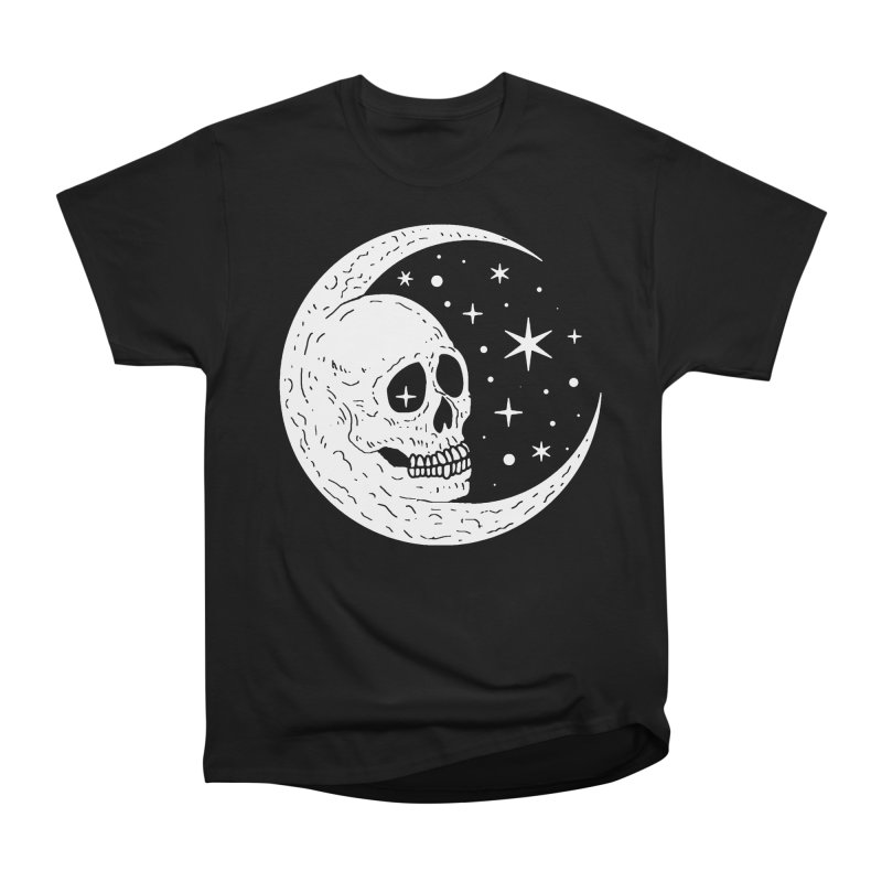 Cosmic Skull Women's Classic Unisex T-Shirt by nikolking's Artist Shop