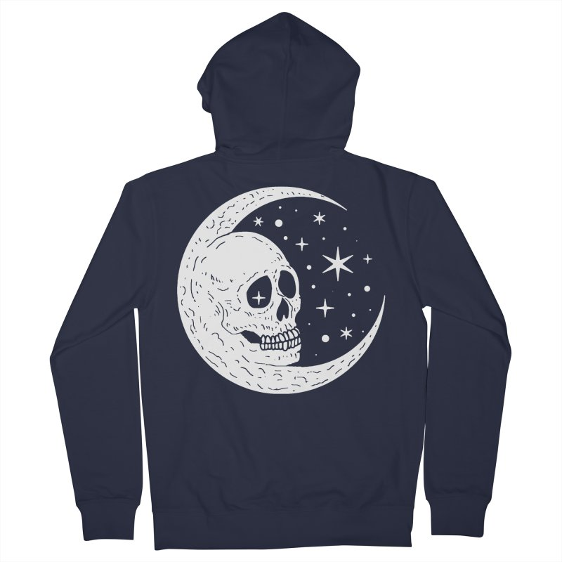 Cosmic Skull Women's Zip-Up Hoody by nikolking's Artist Shop
