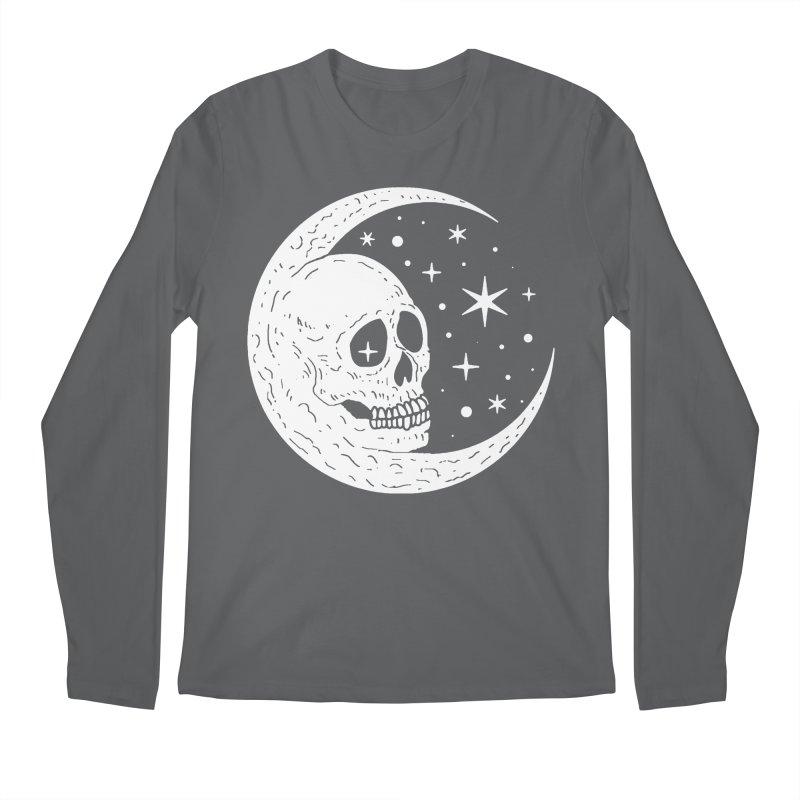 Cosmic Skull Men's Longsleeve T-Shirt by nikolking's Artist Shop