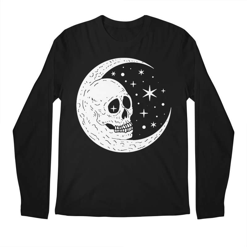 Cosmic Skull Men's Longsleeve T-Shirt by nikolking's Artist Shop