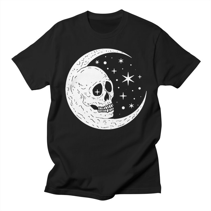 Cosmic Skull Men's T-Shirt by nikolking's Artist Shop