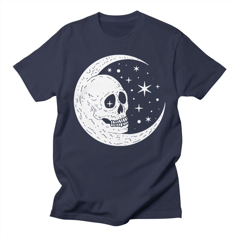 Cosmic Skull Women's Unisex T-Shirt by nikolking's Artist Shop