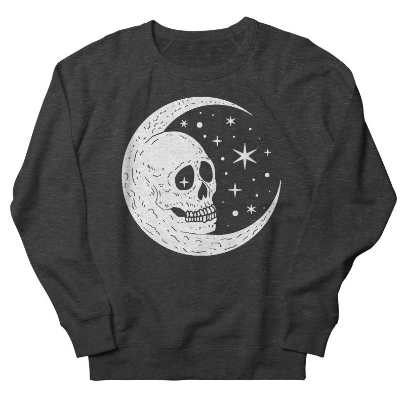 Cosmic Skull Men's French Terry Sweatshirt by nikolking's Artist Shop