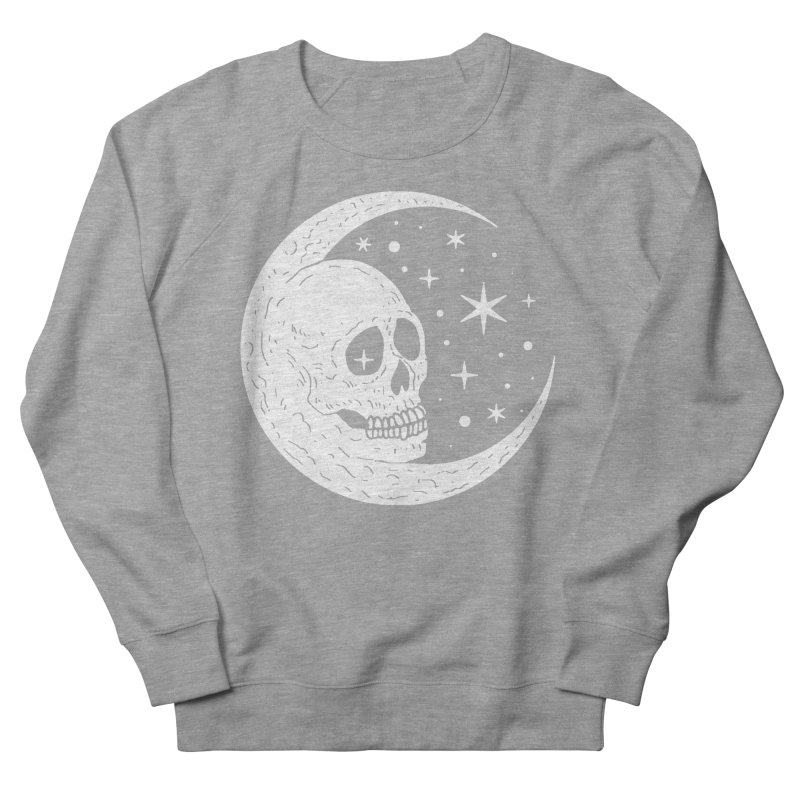 Cosmic Skull Men's Sweatshirt by nikolking's Artist Shop