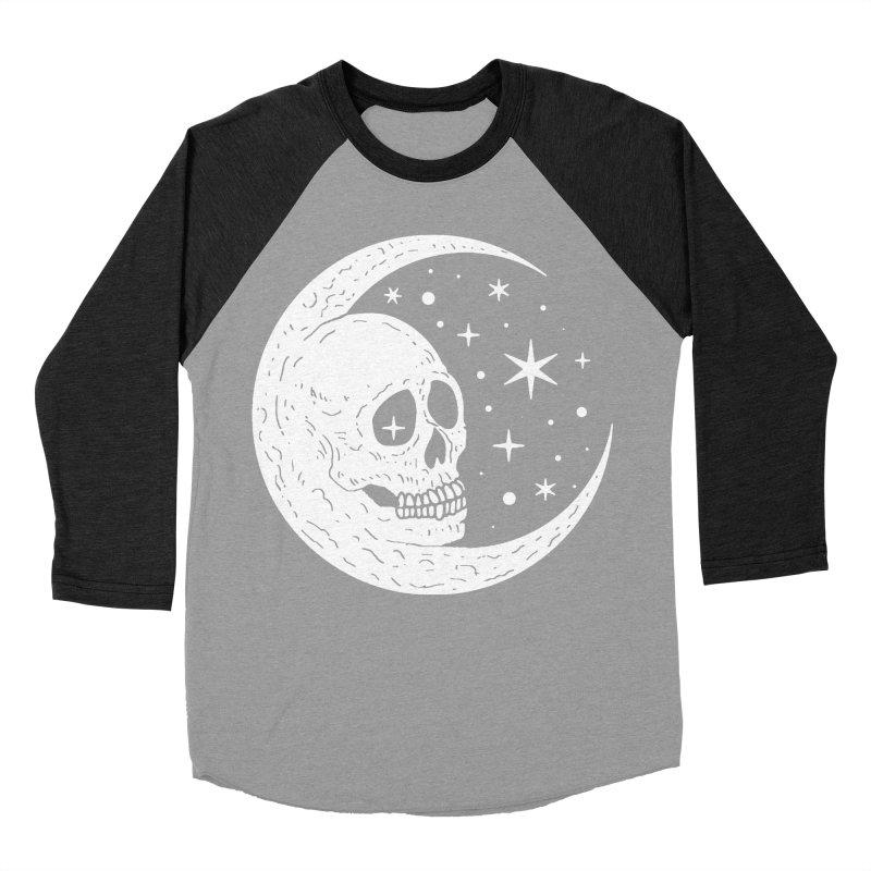 Cosmic Skull Women's Baseball Triblend Longsleeve T-Shirt by nikolking's Artist Shop