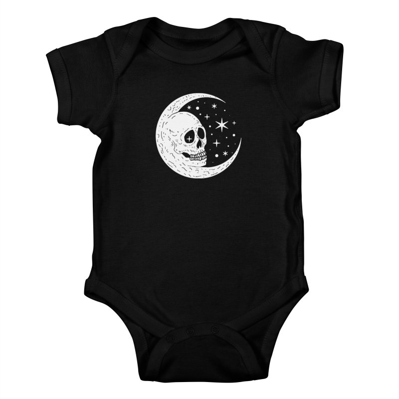 Cosmic Skull Kids Baby Bodysuit by nikolking's Artist Shop