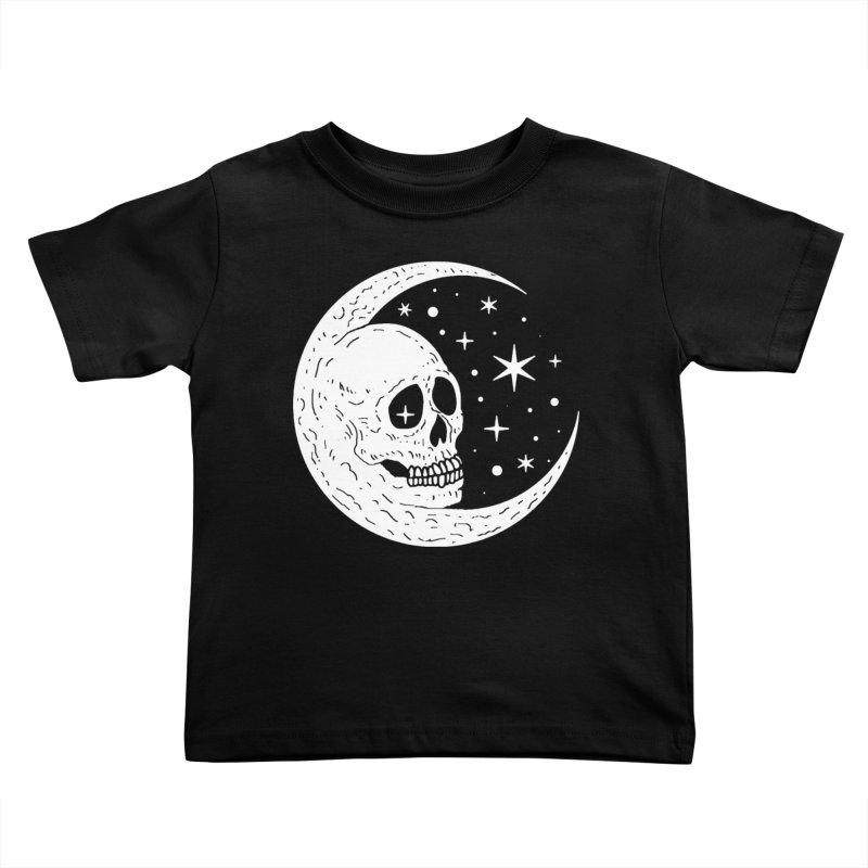 Cosmic Skull Kids Toddler T-Shirt by nikolking's Artist Shop