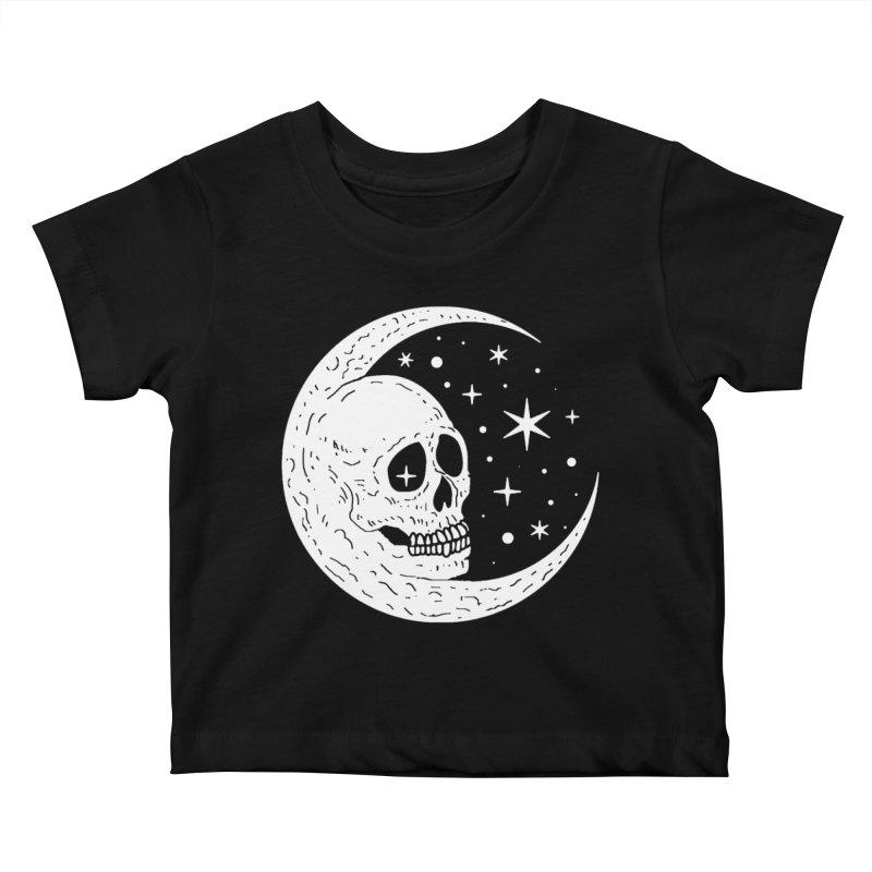 Cosmic Skull Kids Baby T-Shirt by nikolking's Artist Shop