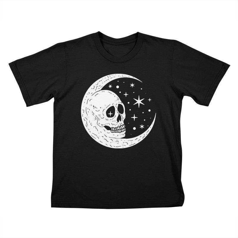 Cosmic Skull Kids T-Shirt by nikolking's Artist Shop