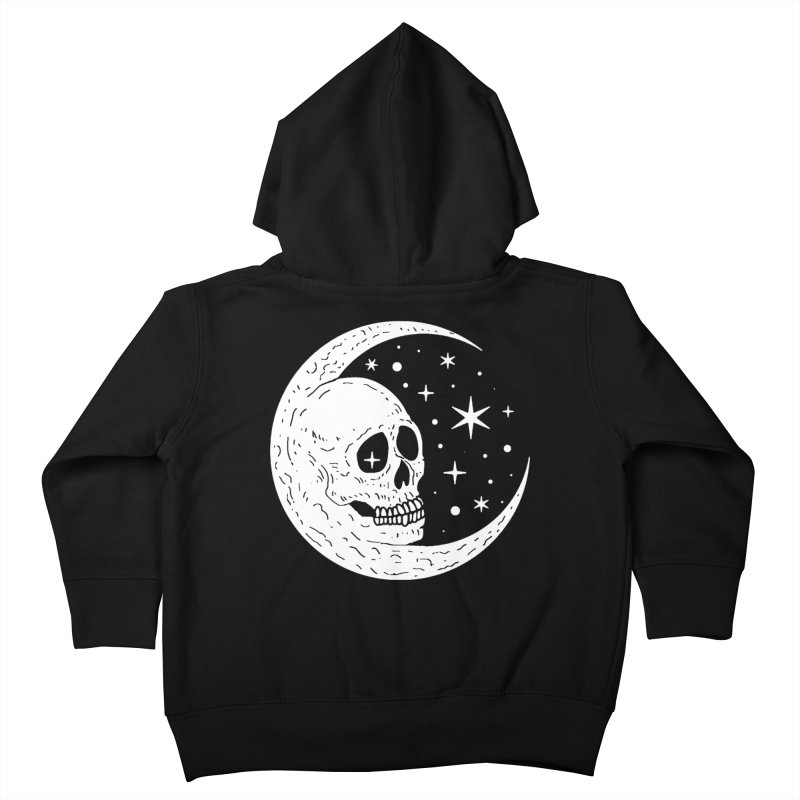 Cosmic Skull Kids Toddler Zip-Up Hoody by nikolking's Artist Shop
