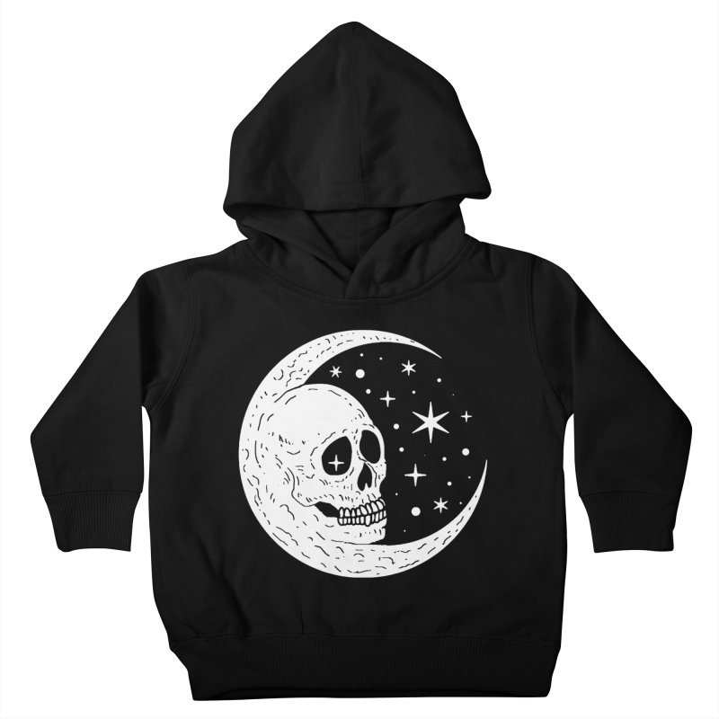 Cosmic Skull Kids Toddler Pullover Hoody by nikolking's Artist Shop