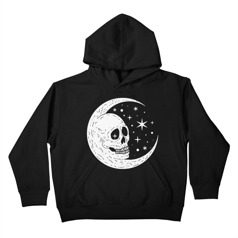 Cosmic Skull Kids Pullover Hoody by nikolking's Artist Shop