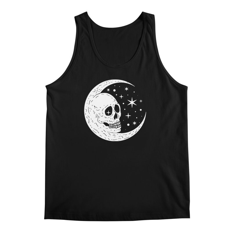 Cosmic Skull Men's Tank by nikolking's Artist Shop