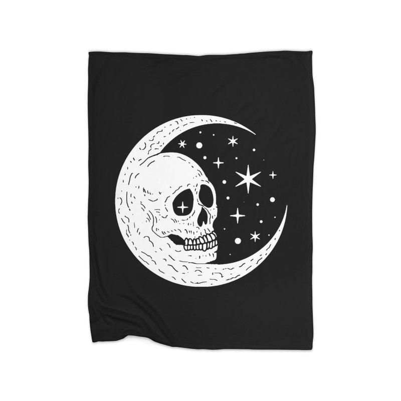 Cosmic Skull Home Blanket by nikolking's Artist Shop