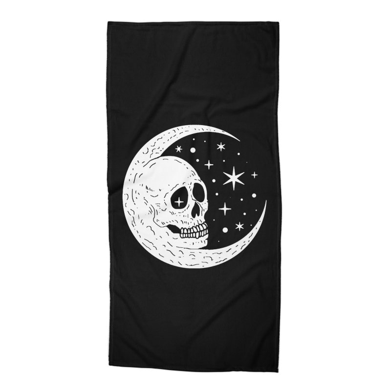 Cosmic Skull Accessories Beach Towel by nikolking's Artist Shop