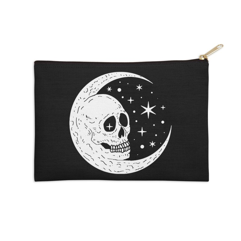 Cosmic Skull Accessories Zip Pouch by nikolking's Artist Shop