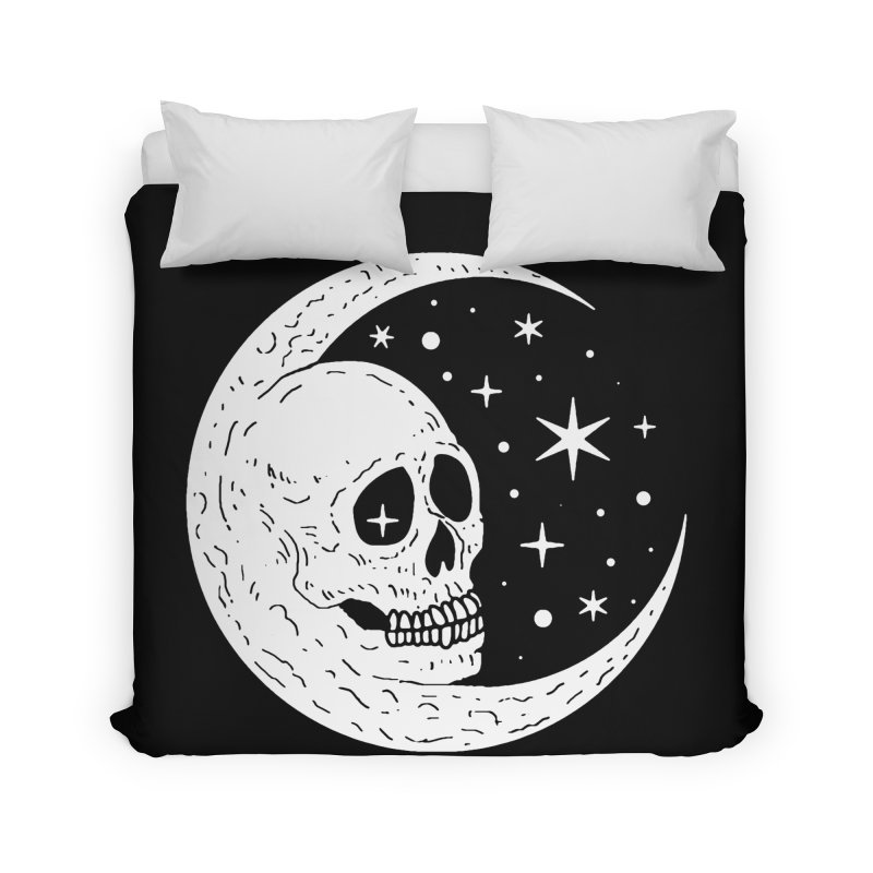 Cosmic Skull Home Duvet by nikolking's Artist Shop