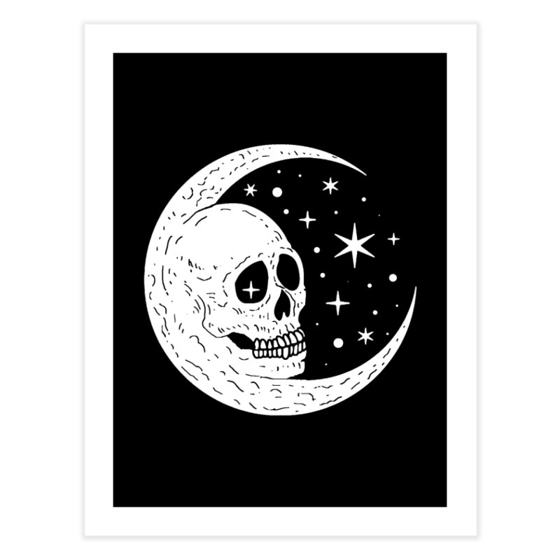 Cosmic Skull Home Fine Art Print by nikolking's Artist Shop