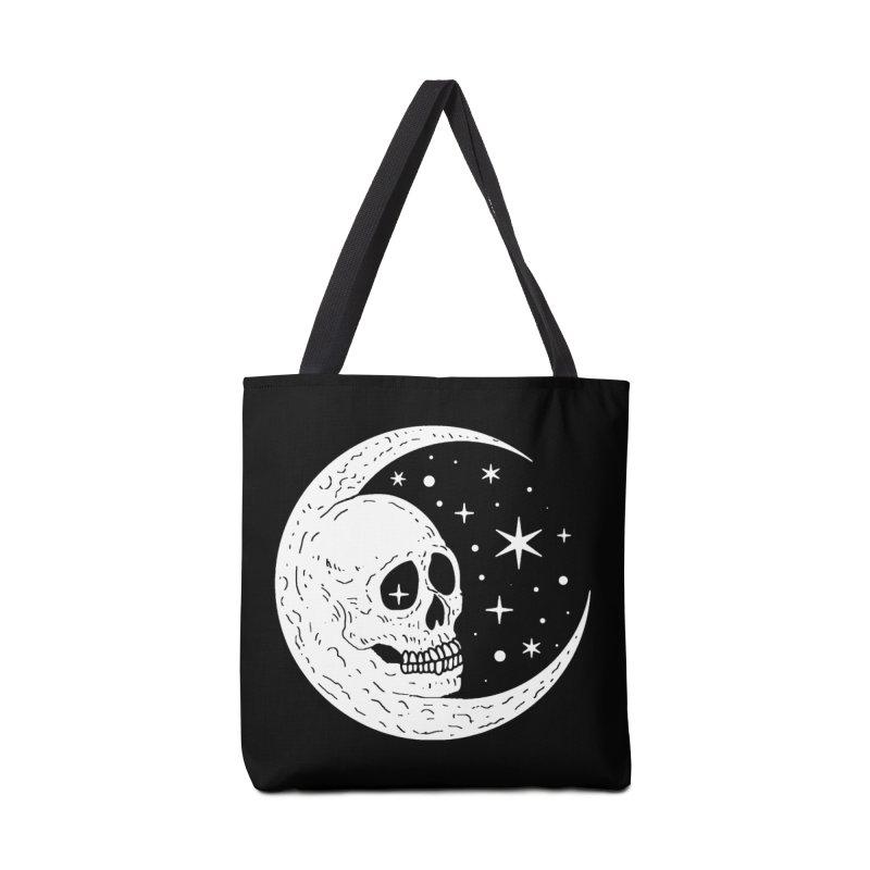 Cosmic Skull Accessories Bag by nikolking's Artist Shop