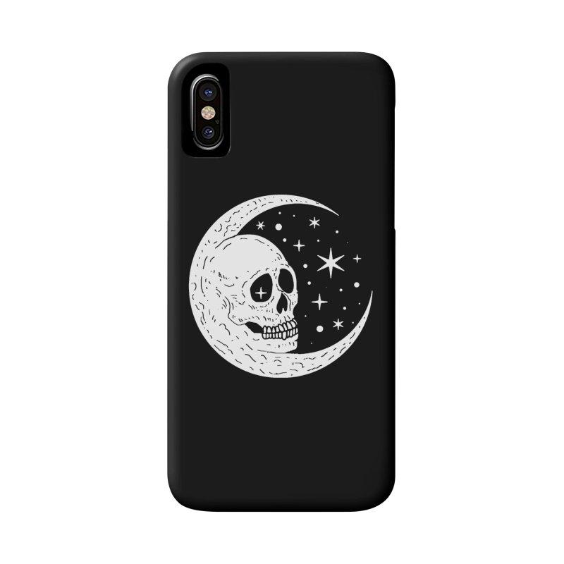 Cosmic Skull Accessories Phone Case by nikolking's Artist Shop