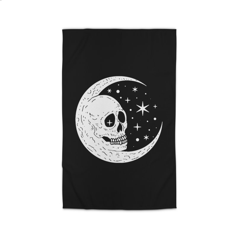 Cosmic Skull Home Rug by nikolking's Artist Shop